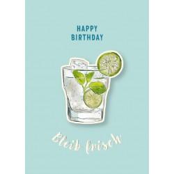 Happy Birthday Bleib frisch
