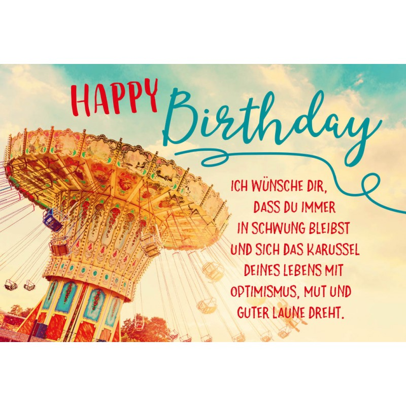 Happy birthday wunsche dir nur das beste
