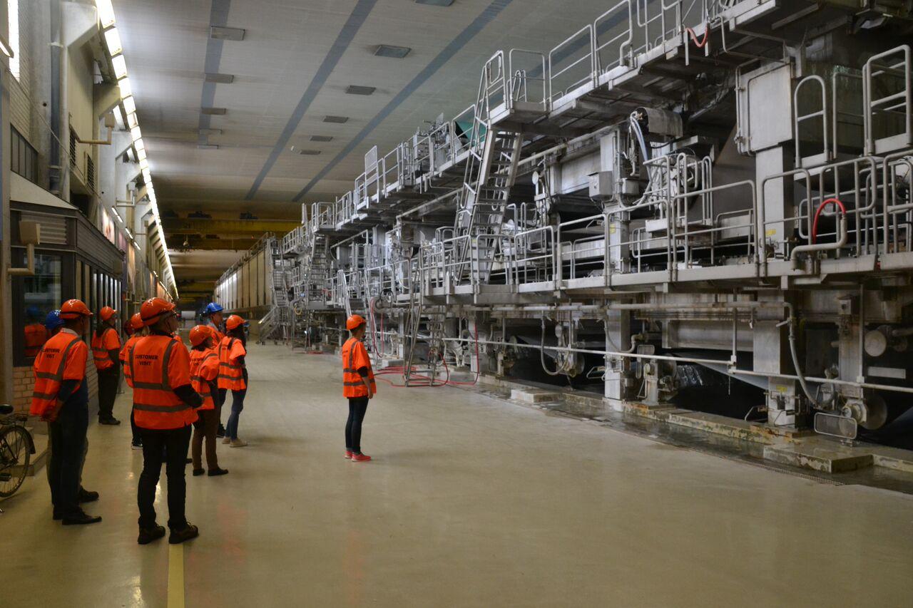 2015-06-25 Besuch IGGESUND in Schweden - Papierfabrik2