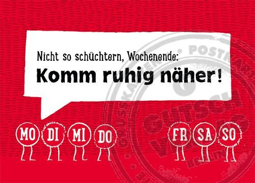 Klare Worte Postkarte 3047-007