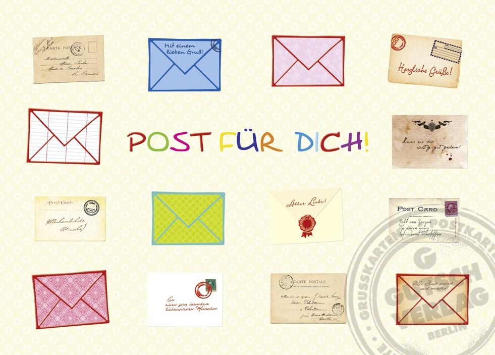 Postkarte Papelino 7396-000
