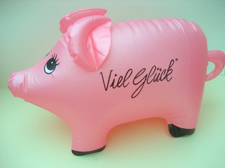 aufblasbares Schwein