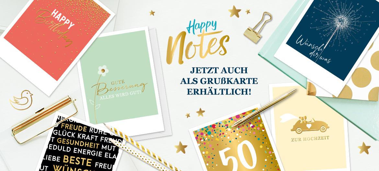 Happy Notes Grußkarten