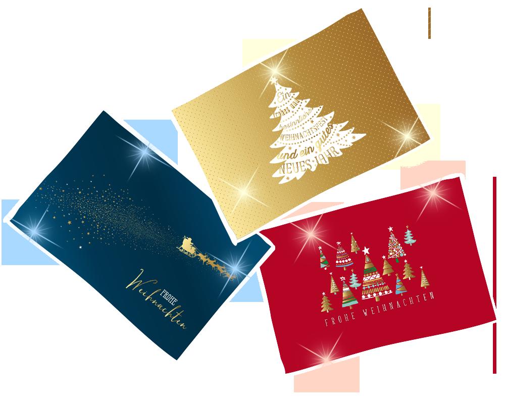 Glanzstücke Weihnachten Grußkarten Auswahl